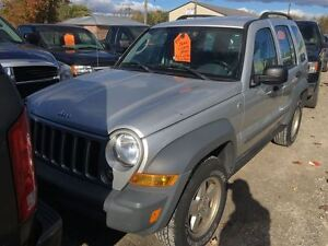 2006 Jeep Liberty Sport CALL 519 485 6050 CERT AND E TESTED London Ontario image 1