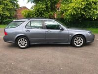 2008 08 SAAB 9-5 2.0 TID LINEAR SE TURBO DIESEL ESTATE ALLOYS BODYWORK AVERAGE DRIVES OK PX SWAPS