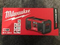 Milwaukee - Radio with AUX input