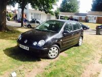 2004 Vw Polo 1.2 petrol 5 door hatchback FULL SERVICE HISTORY 2 keys