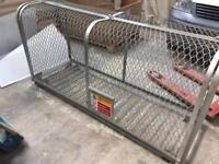 Gas bottle cage / storage