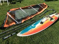 Complete wave/advanced windsurf package - fanatic Goya