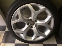 BMW X5 E70 FRONT ALLOY WHEELS FOR SALE
