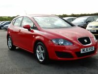 2011 seat leon 1.6 tdi s low miles, motd jan 2019 only £20 pound a year tax