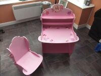 Barbie table and chair