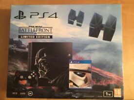 ps4 1tb le battlefront console