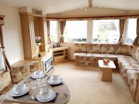 Double Glazed & Gas Central Heated Caravan for Sale 8 Berth 3 Bedrooms in East Sussex nr Rye & Kent