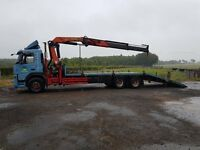 Volvo beavertail hiab lorry for sale