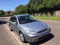 2004 FORD FOCUS 1.8 GHIA PETROL, MANUAL, 5-DR ***CURRENT MOT TILL JULY 2018***FULL SERVICE HISTORY