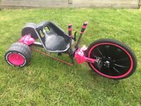 Huffy Green Machine - pink (Go Kart) Like new. Barely used. Bought for £125 on Amazon.