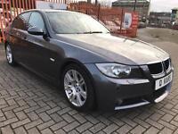 2006 (06) BMW 320D M-Sport / FSH / full leather / Sunroof /