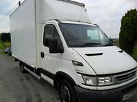 """iveco daily 35c14 3.0 6 speed 14"""" luton with curtain on left side"""