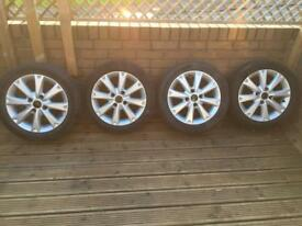 Alloy wheels for Ford Fiesta