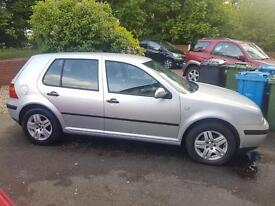 VW Golf 1.6 petrol