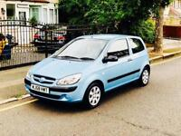 Hyundai Getz 1.1, New Mot, Full Service History, Super Low Mileage, 1 Owner From New, Air Con