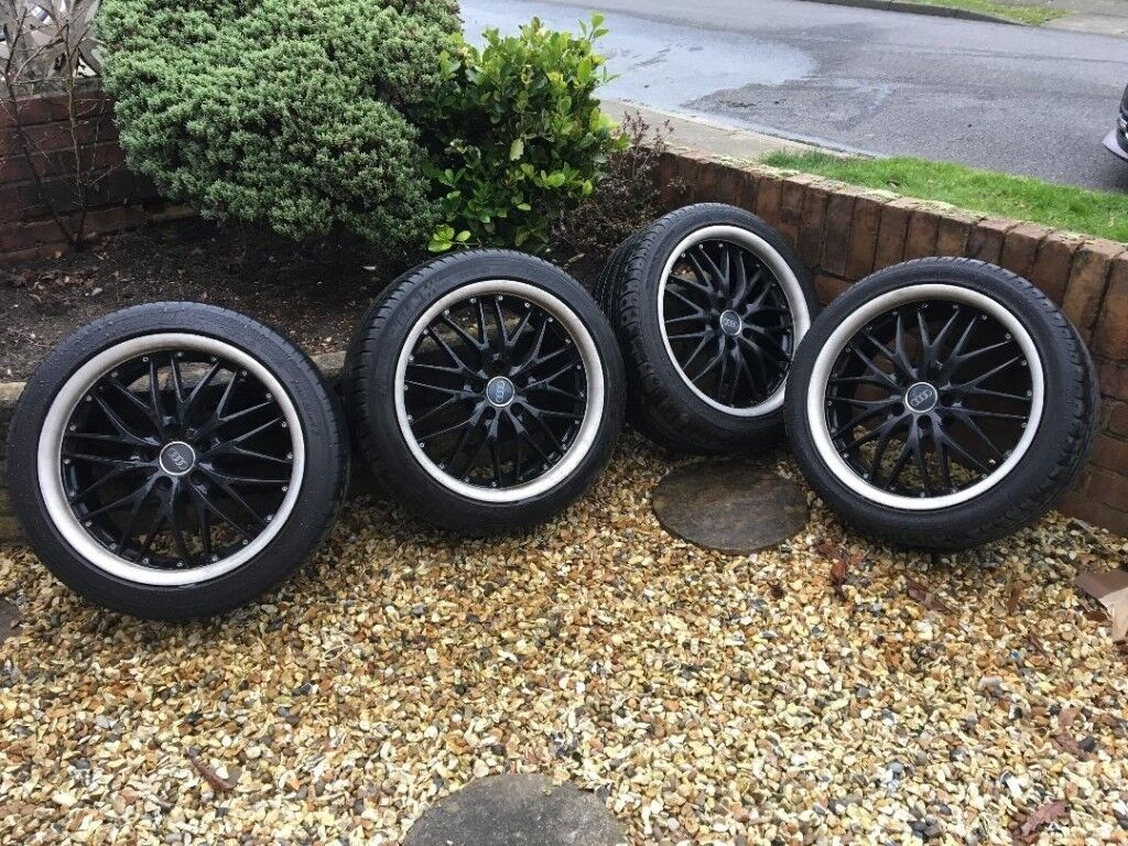 "Audi / VW / SEAT / Golf etc 18"" Alloy Wheels x 4"