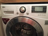 LG 11kg Inverter Directdrive Washing Machine for sale! Top of the line, only 18 months old!