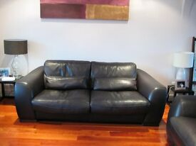 Incanto Soft Italian leather sofa