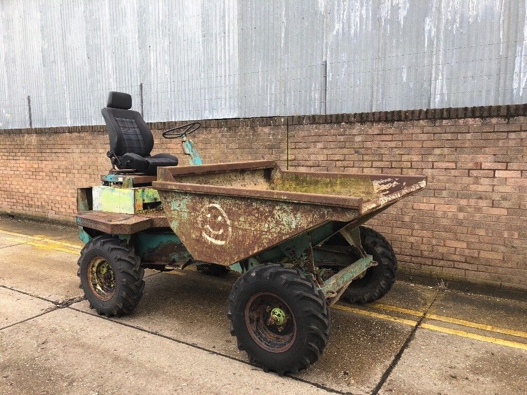 Thwaites 2ton diesel dumper, 4x4