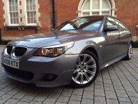 BMW 5 Series 2.0 520d M Sport 2008 FACELIFT ++ HUGE SPEC ++ LOADED ++not 530d 525d 535d