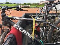Cube acid competition line bike