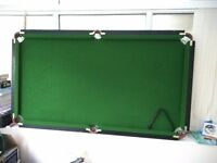 POOL TABLE 3x6ft