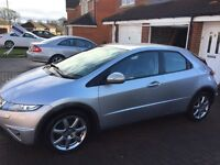 Honda Civic 2.2 Diesel sport LOW MILES 93k