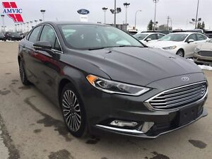 2017 Ford Fusion SE AWD Luxury Leather Nav Moonroof