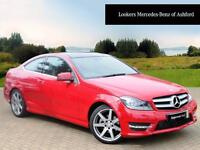 Mercedes-Benz C Class C180 AMG SPORT EDITION PREMIUM PLUS (red) 2015-03-26