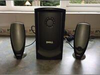 Dell Zylux A425 Multimedia Computer Speaker System With Subwoofer - MINT condition - London (DD27)