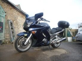 Yamaha FJR1300 Motorbike - Blue Very Good condition
