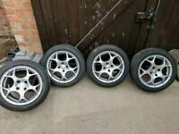 Alloy wheels 195/50/50