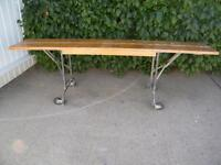 Mobile Work Bench with T-Track Top