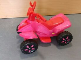 Sit On Quad Roadsterz 6v Quad Bike in Pink