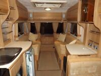 2007 COACHMAN LASER 590/4 TWIN AXLE VAN WITH MOTOR MOVER. END BATHROOM. VAN IS STORED UNDERCOVER.