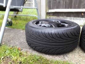 "Toyota supra 16"" OEM wheels."