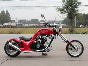 250CC GHOST MINI MOTORCYCLE CHOPPER BIKE BRAND NEW! 4-STROKE, MANUAL CLUTCH