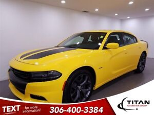 2017 Dodge Charger R/T 5.7L V8 HEMI 370HP|Leather|Sunroof|NAV|Ca