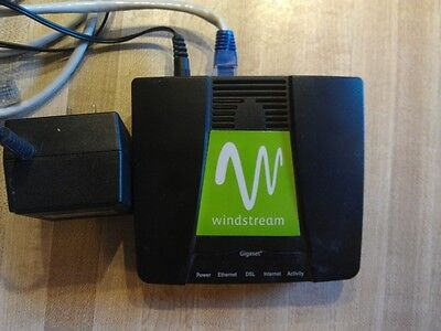 Pair Of Windstream Branded Adsl Modems Speedstream Gigaset
