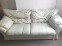 For sale leather sofa!