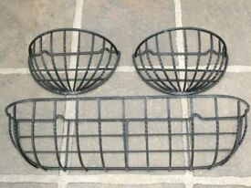 metal wall baskets