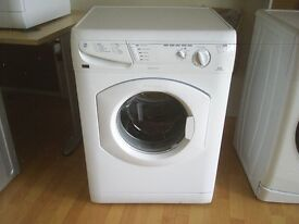 HOTPOINT AQUARIUS WF321 WASHING MACHINE in white, fully reconditioned, free local delivery