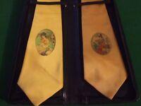 Set of 2 Vintage Ties by Greens Original