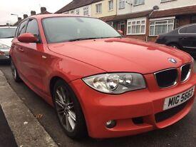 BMW 118i M Sport Auto 86k Red