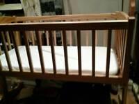 Bargain bargain solid wood cot