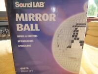 Hanging Mirror Disco Ball Party Light