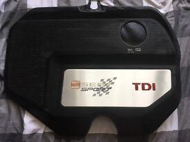 Seat Ibiza Cupra - Seat Sport Engine cover! Rare!
