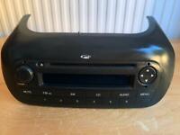 CD PLAYER PEUGEOT BIPPER / CITROEN NEMO / FIAT FIORINO Stereo Head Unit