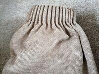 Premium Brown fabric curtains