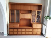 Vintage Nathan Teak living/dining room furniture